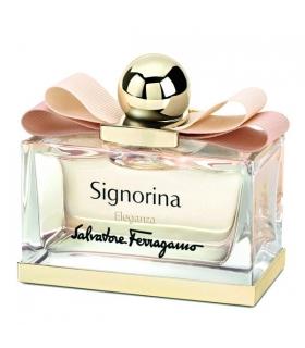 عطر زنانه سالواتور فراگامو سیگنورینا الگانزا Salvatore Ferragamo Signorina Eleganza Eau De Parfum For Women