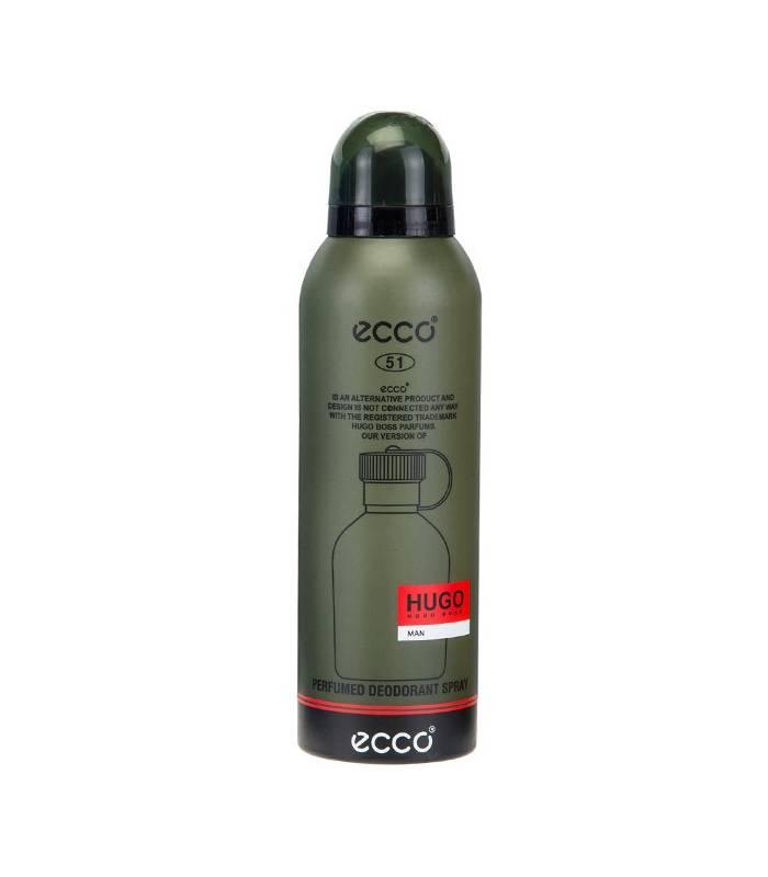 اسپری مردانه اکو هوگو من Ecco Hugo Man Spray For Men