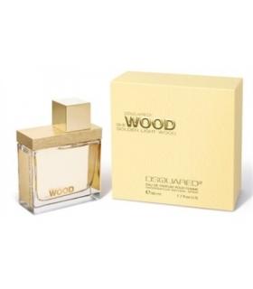 عطر زنانه دسکوارد شی وود گلدن لایت DSQUARED she wood golden light