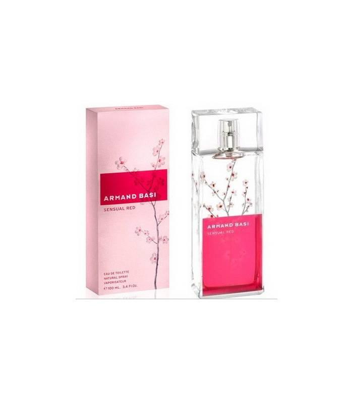 عطر زنانه سنشوال رد آرماند باسی Sensual Red Armand Basi for women