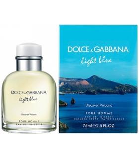 عطر مردانه دلچی گابانا لایت بلو دیسکاور ولکینو پور هوم Dolce & Gabbana Light Blue Discover Vulcano Pour Homme