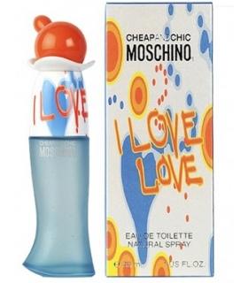 عطر زنانه موسچینو چیپ اند چیک آی لاولاو Moschino Cheap & Chic I Love Love